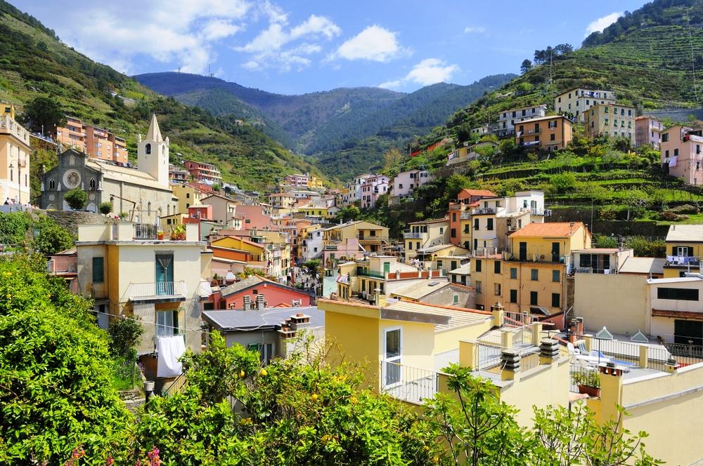 Abitazioni secondarie in Liguria