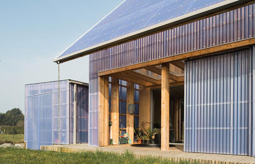 Строительство эко-дома во Франции обойдется дешевле $200000