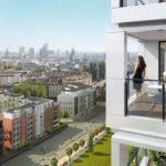 Квартиры на верхних этажах стоят сравнительно дорого