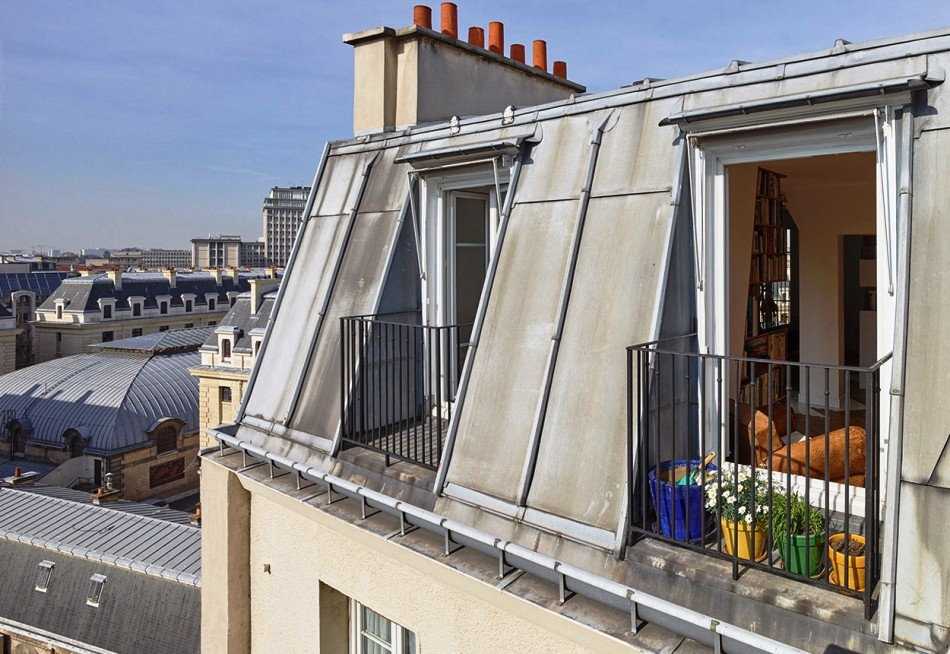 В Париже увеличат количество недвижимости за счет чердаков и мансард