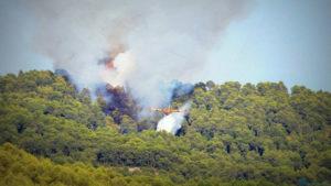 Французские пожарные самолеты направлены на тушение пожаров в Португалию