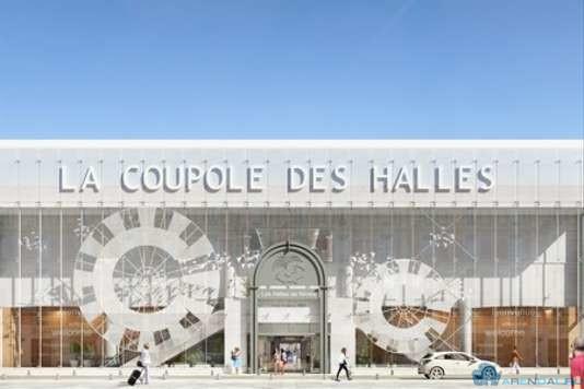 La Coupole des Halles обрел новый вид