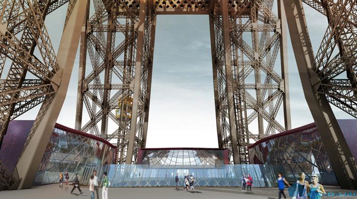 Реконструкция Эйфелевой башни назначена на 2023 год