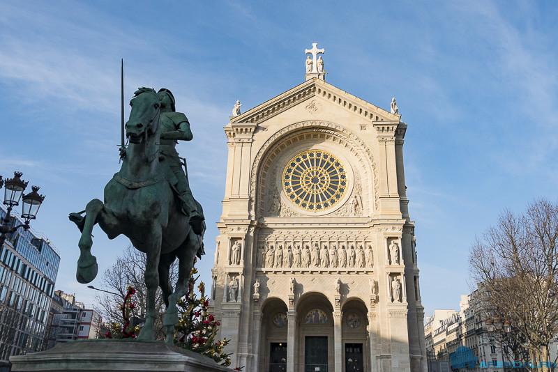Фасад церкви Святого Августина прошел реставрацию