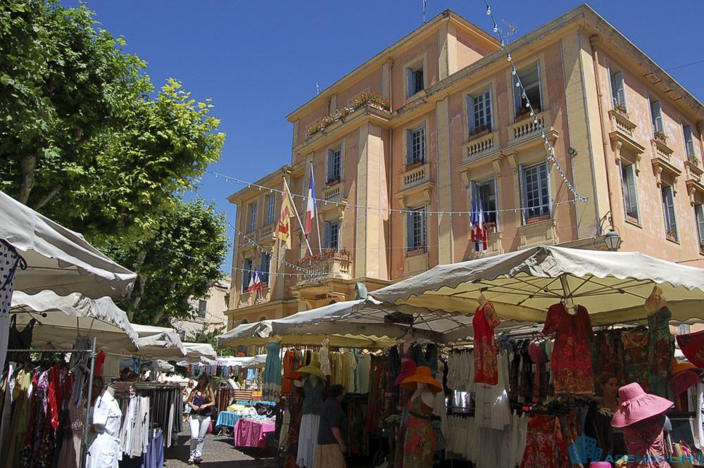 город Ванс на юге Франции