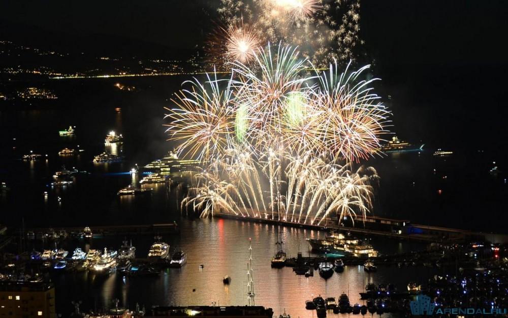 Международный конкурс музыкальных фейерверков в Монако