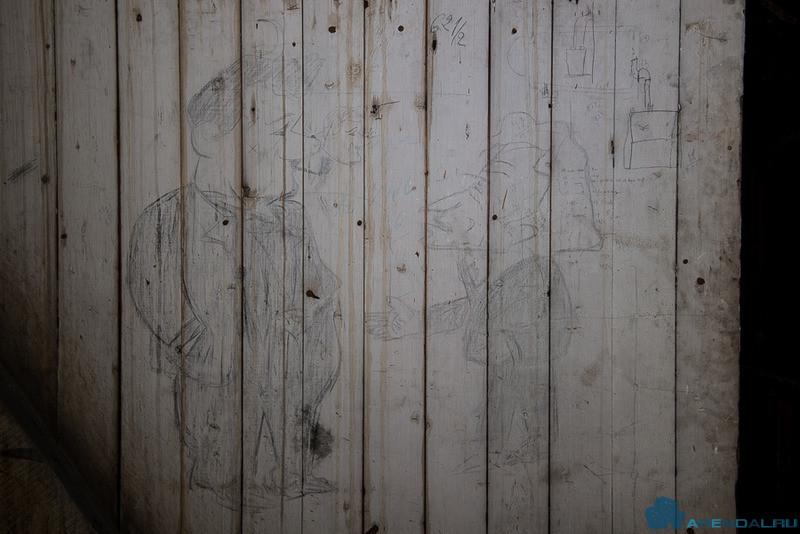 В церкви Святого Филиппа дю Руля обнаружены необычные рисунки