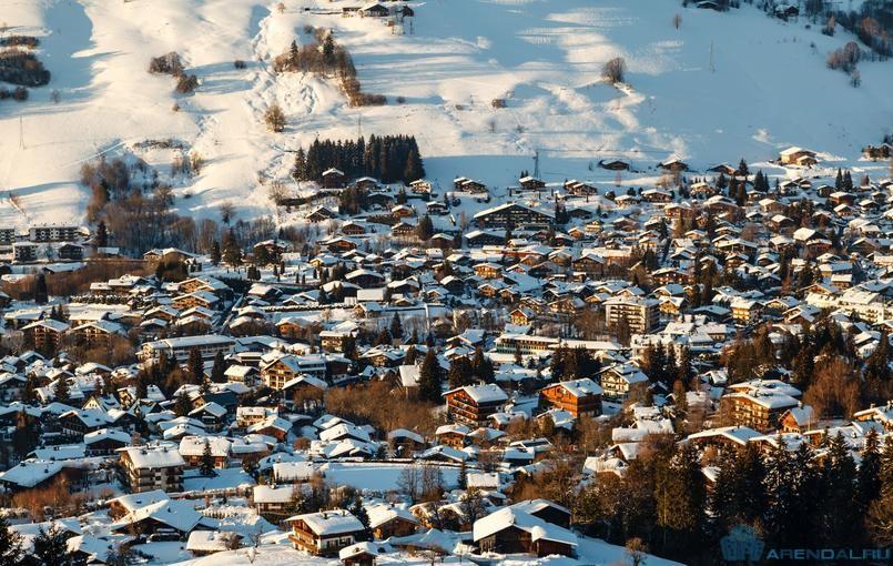 Французский горнолыжный курорт в Межеве на 40 000 мест