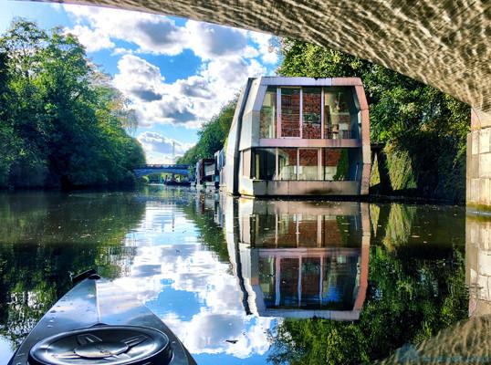Дом на воде: очередное архитектурное новшество